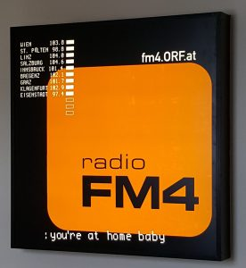 FM4 Sign at the Funkhaus